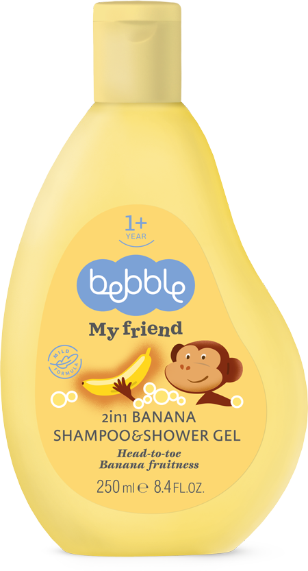 2in1 Banana Shampoo&Shower Gel
