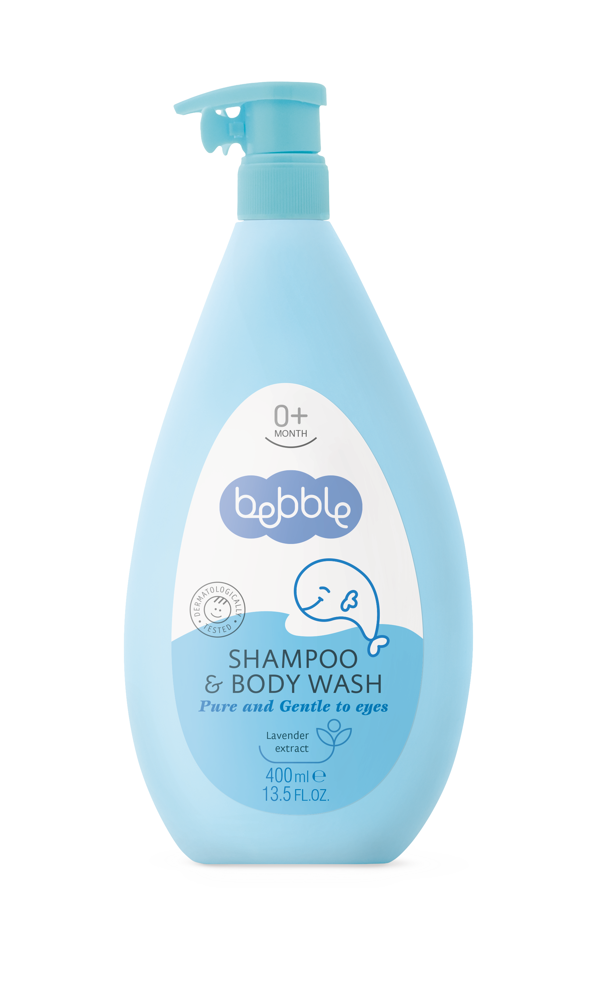 Shampoo & Body Wash 400